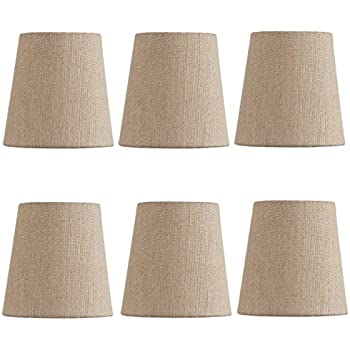 Mini Chandelier Shades Clip On Small Lamp Shades Set Of