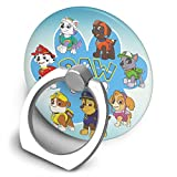 EdithL Paw Patrol Cellstand Cell Phone Finger Ring Stand - Car Mount 360 Degree Rotation Universal Phone Ring Holder Kickstand for iPhone iPad Samsung