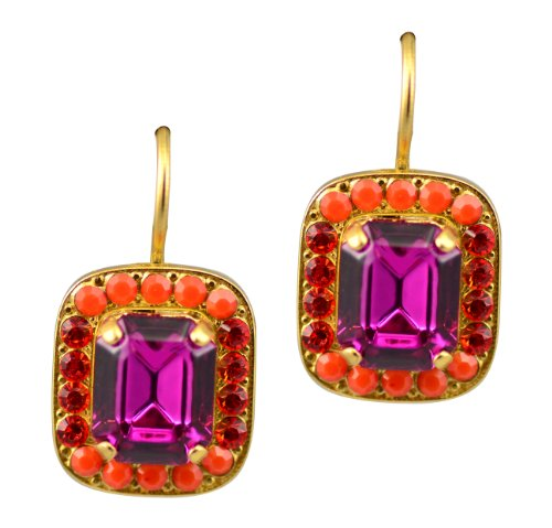 Mariana-Angelina-Gold-Plated-Petite-Rectangle-Swarovski-Crystal-Drop-Earrings