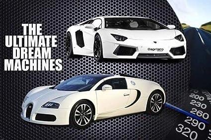 Amazon Com Sport Cars Poster Lamborghini Bugatti Rare Hot New 24x36