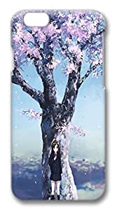 iphone 6 plus 5.5inch Case and Cover Waiting under the cherry tree PC case Cover for iphone 6 plus 5.5inch