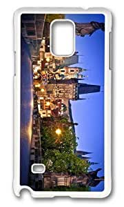Adorable charles bridge prague Hard Case Protective Shell Cell Phone Ipod Touch 5 - PC White