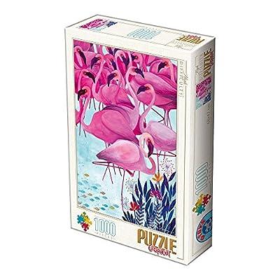 Unbekannt D Toys 2 Puzzle 1000 Andrea Kurti Tropical Flamingos