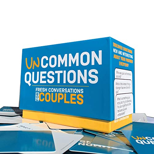 Uncommon Questions 200 Fresh Conversations Starters for Couples Daily Tool to Reconnect with Your Partner | Quick Relationship Strengthener | Works Great for Groups (Best Card Games For Couples)