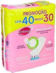 Intimus Days 202304 - Protetor Diário com Perfume, 40 unidades - Leve 40 Pague 30