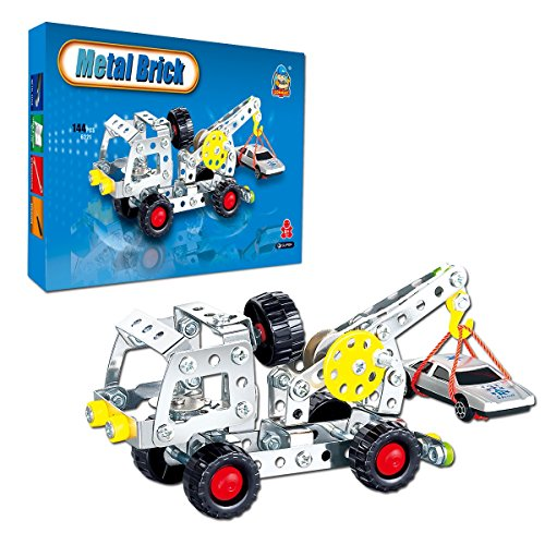 COME2LOOK 144 Piece STEM Toys Kit | Educational Construction Engineering Building Blocks Learning Set for Ages 5+Year Old Boys & Girls | Best Kids Toy | Creative Games & Fun Activities by COME2LOOK