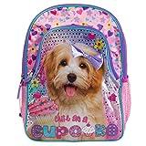 Underrated Girls' Cute Kitten/Puppy Backpack, Pink