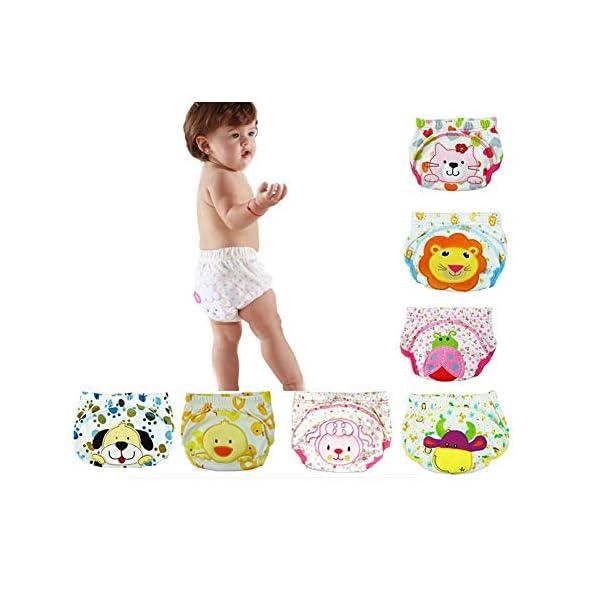 CuteOn 7 pacchetto di Formazione del Bambino del Bambino dei Ragazzi delle Ragazze di Cotone Potty Pantaloni… 1