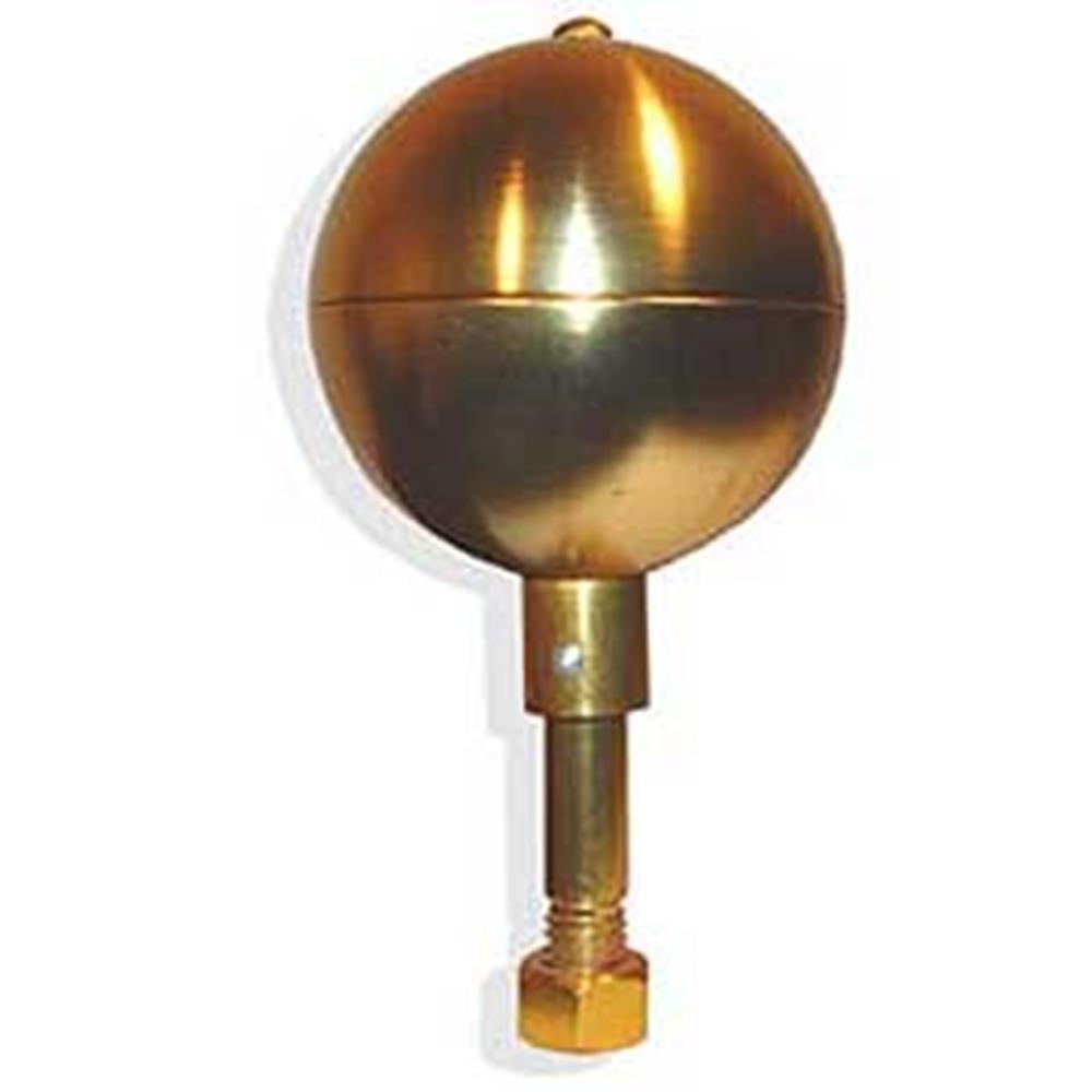EagleEmblems F9848-40 FLAGPOLE-TOP,Bronze Ball 3-INCH