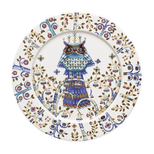 """Taika Dinner Plate 10.6"""" Color: White"""