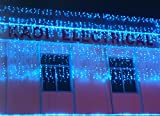 Window decorations the lights Christmas Day LED illumination [Water lights] Waterfall lights-Blue