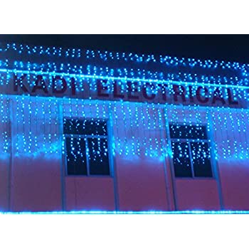 Window decorations the lights Christmas Day LED illumination [Water lights] Waterfall lights-Blue  sc 1 st  Amazon.com & Amazon.com : Window decorations the lights Christmas Day LED ...