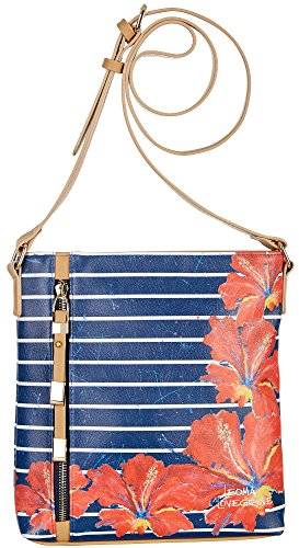 Handbag Show One Size multi Time Blue Crossbody Lovegrove Leoma 5Oqx4wzI5