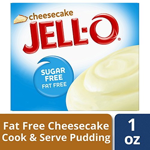 Jell-O Sugar-Free Instant Pudding & Pie Filling, Cheesecake, 1 oz