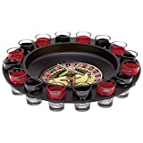 Gifts Infinity Shot Glass Roulette - Drinking Game Set (2 Balls and 16 Glasses) ...