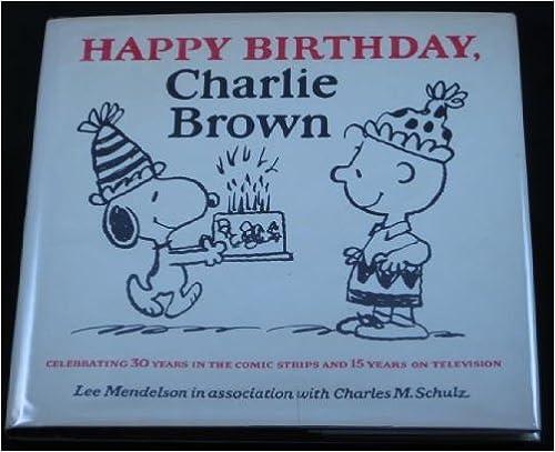 Book Happy Birthday, Charlie Brown