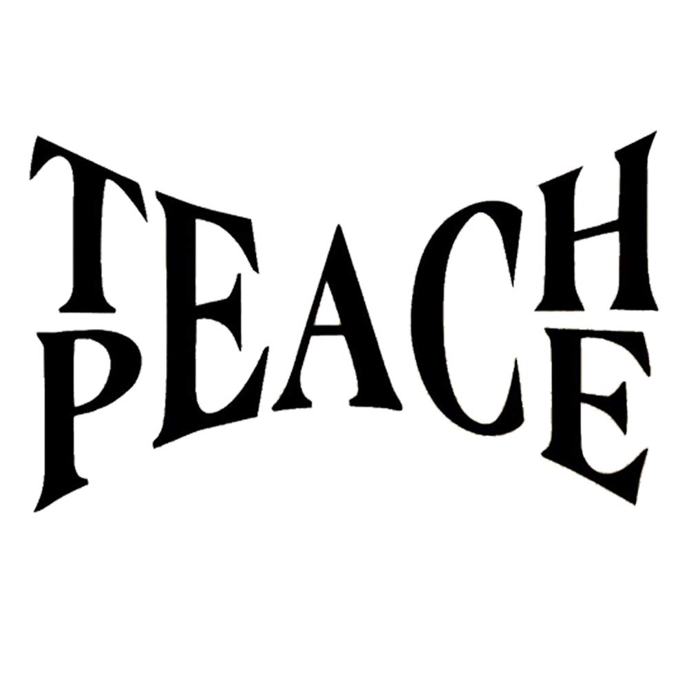 Amazon Wmdecal Teach Peace Quote Design Decal Sticker Wall