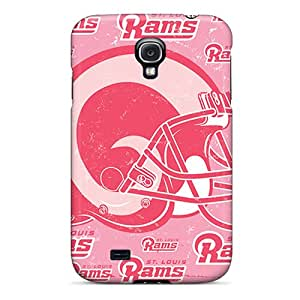 Scratch Resistant Cell-phone Hard Cover For Samsung Galaxy S4 With Allow Personal Design Fashion St. Louis Rams Pictures SherriFakhry