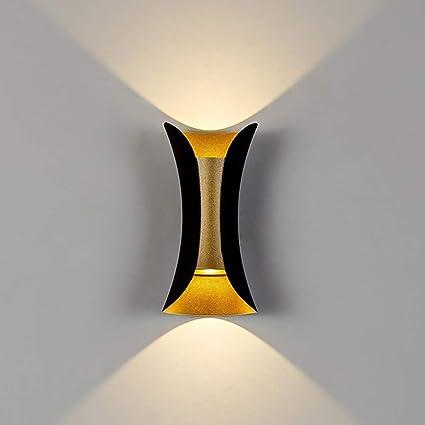 Amazon.com: Mini lámpara de pared de metal LED industrial ...