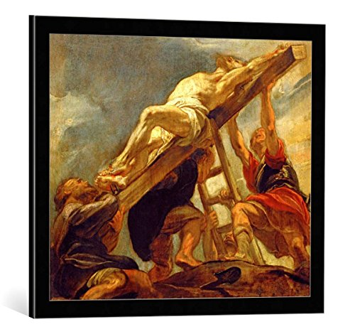 kunst für alle Framed Art Print: Peter Paul Rubens The Elevation of The Cross c 1620 21