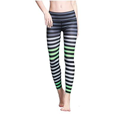 9633d2b4b8e65 Befullo Women's Yoga Pants Capri Legging Workout Gym Tights at ...