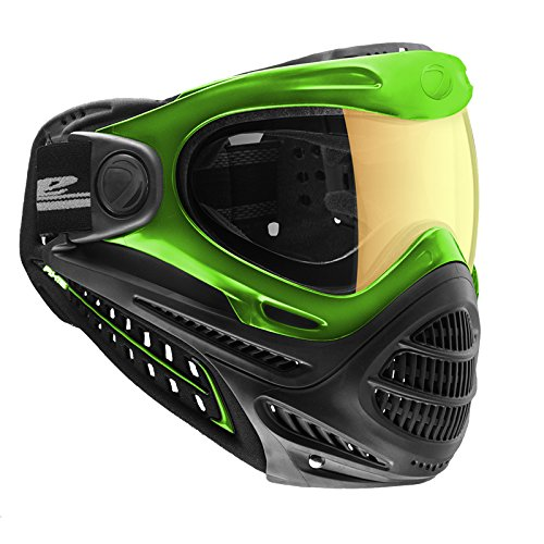 Dye Axis Pro Paintball Goggle - Lime Northern Lights