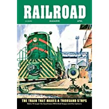Railroad Magazine: The Train That Makes a Thousand Stops 1954 12x18 Giclee On Canvas