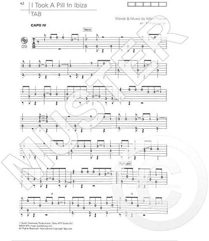 Acoustic Pop Guitar Solos 4 D884 9783868493306 - Libro de ...