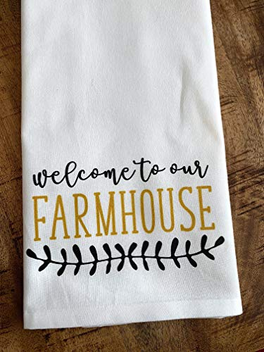 r Sack Rustic Welcome to Our Farmhouse ()