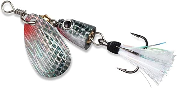 Blue Fox Super Vibrax Spinning Lure 7//64 Ounce Size 0 Choice of Colors