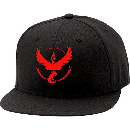 [XCOSER Trainer Hat Baseball Cap Team Valor Red Hat] (Baseball Costume Accessories)