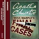 Miss Marple's Final Cases Hörbuch von Agatha Christie Gesprochen von: Joan Hickson