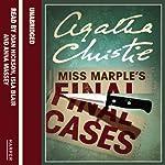 Miss Marple's Final Cases   Agatha Christie