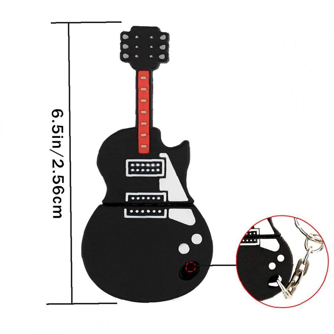 16 GB Guitarra Unidad Flash USB De La Novedad De Flash Clave Pen ...