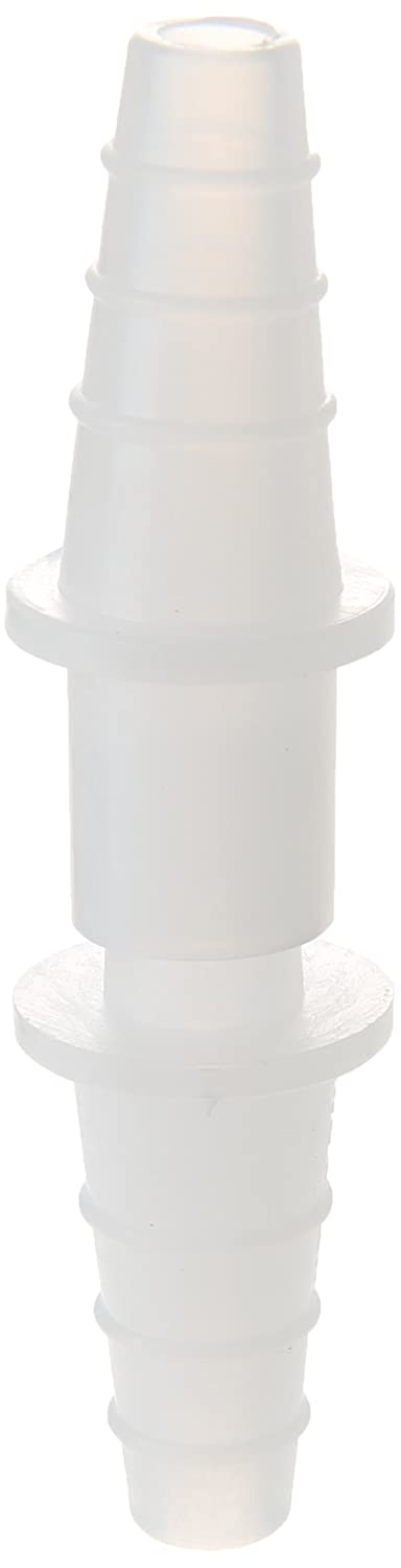 Case of 100 Dynalon Kartell 228765 Low Density Polypropylene Quick Disconnect Tubing Connector for 10mm-12mm Tubing ID