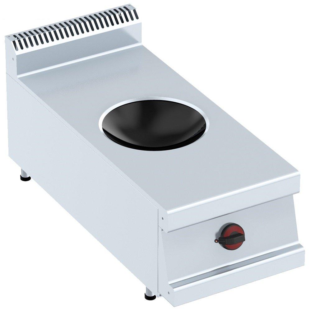 Macfrin 3473S Cocina 1 Fuego Wok Inducción 40X90: Amazon.es ...
