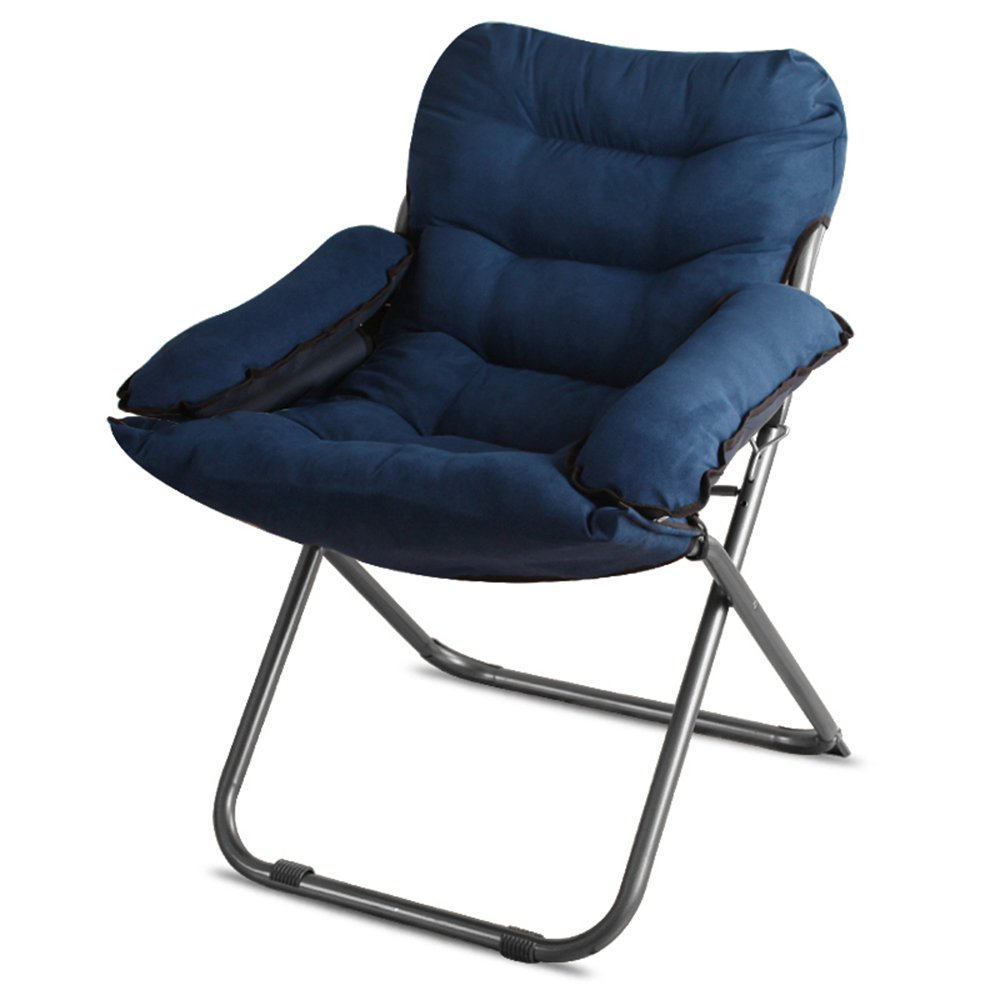 Computer chair / home lazy chair / folding college dormitory balcony office chaise longue / bedroom game chair / chair 65 66 43 / 95cm ( Color : 4 )