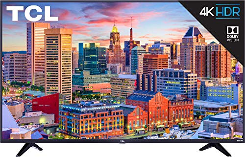 TCL 43S517 43-Inch 4K Ultra HD Roku Smart LED TV (2018 Model) ()