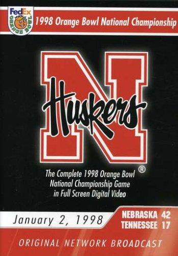 1998 Orange Bowl National Championship Game (Nebraska Cornhuskers Dvd)