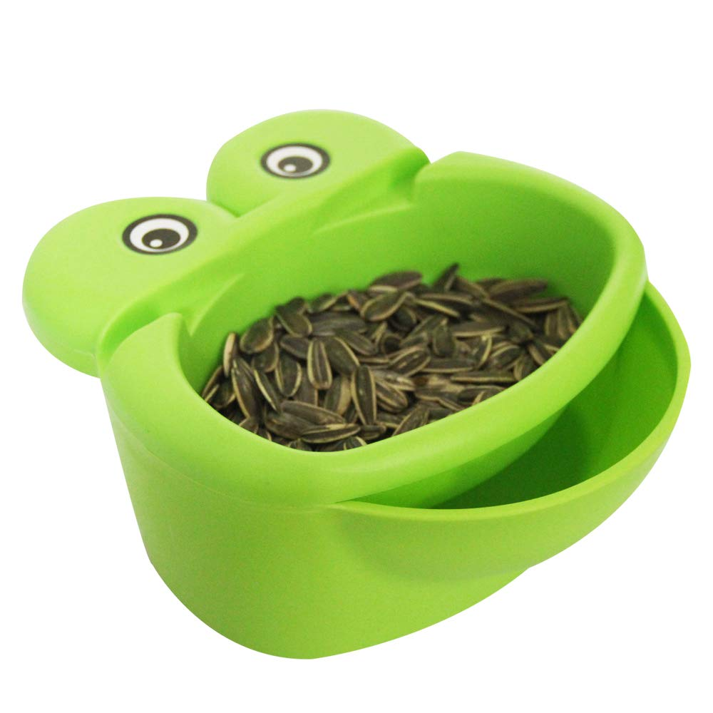 Snack Bowl, Double Dish Nut Bowl with Cellphone Holder Slot, Serving for Pistachio, Sunflower Seeds, Peanuts, Edamame hipat HB-SB-05-05