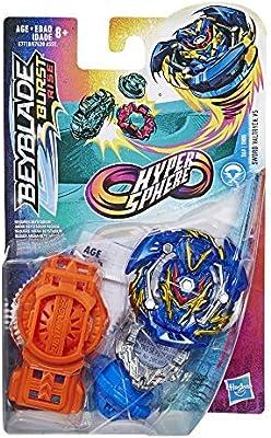 Beyblade Burst Rise Hypersphere Sword Valtryek V5 Starter Pack Attack Type Battling Top Toy Right Left Spin Launcher Ages 8 Up Amazon Sg Toys Games