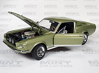 Amazon com: 1967 Ford Mustang Shelby GT500: Toys & Games