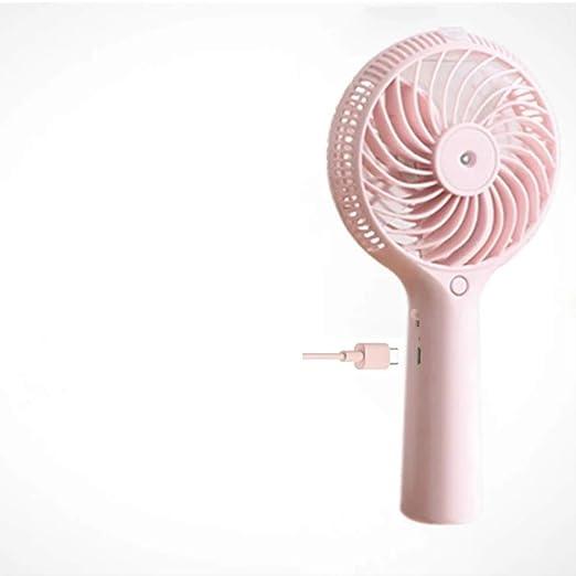 JKWJE Ventilador de Bolsillo Mini Ventilador De Niebla De Agua USB ...