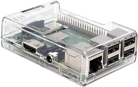 SB Components SKU02696 - Caja para Raspberry Pi Modelo B/B Plus ...
