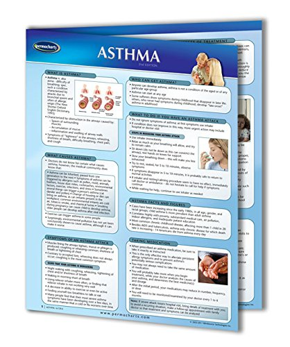 (Asthma - Health Medical Quick Reference Guide - 4-Page 8.5