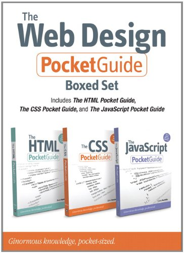 The Web Design Pocket Guide Boxed Set (Includes The HTML Pocket Guide, The JavaScript Pocket Guide, and The CSS Pocket G