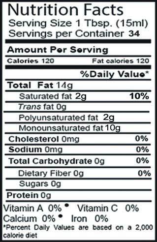 De La Rosa Real Foods & Vineyards - Pure Avocado Oil - 500ml by De La Rosa Real Foods & Vineyards (Image #1)