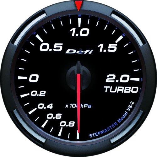 Defi DF11506 Racer PSI Turbo Gauge, White, 60mm