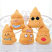 Funny Poo Shape Throw Pillow Dolls Bed Sofa Chair Cotton Cushion
