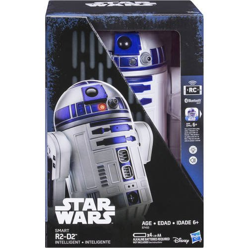 Hasbro Star Wars Smart App Enabled R2-D2 Remote Control Robot Rc (Smartphone Controlled Toys)